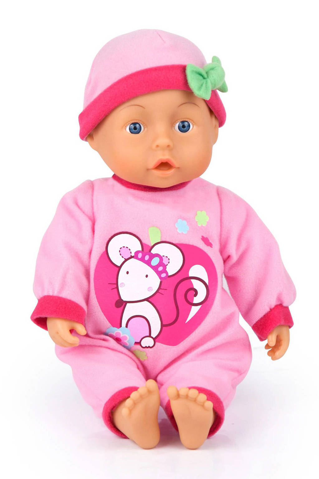 Bayer first words baby 28 cm roze