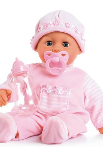 first words baby 38 cm roze babypop
