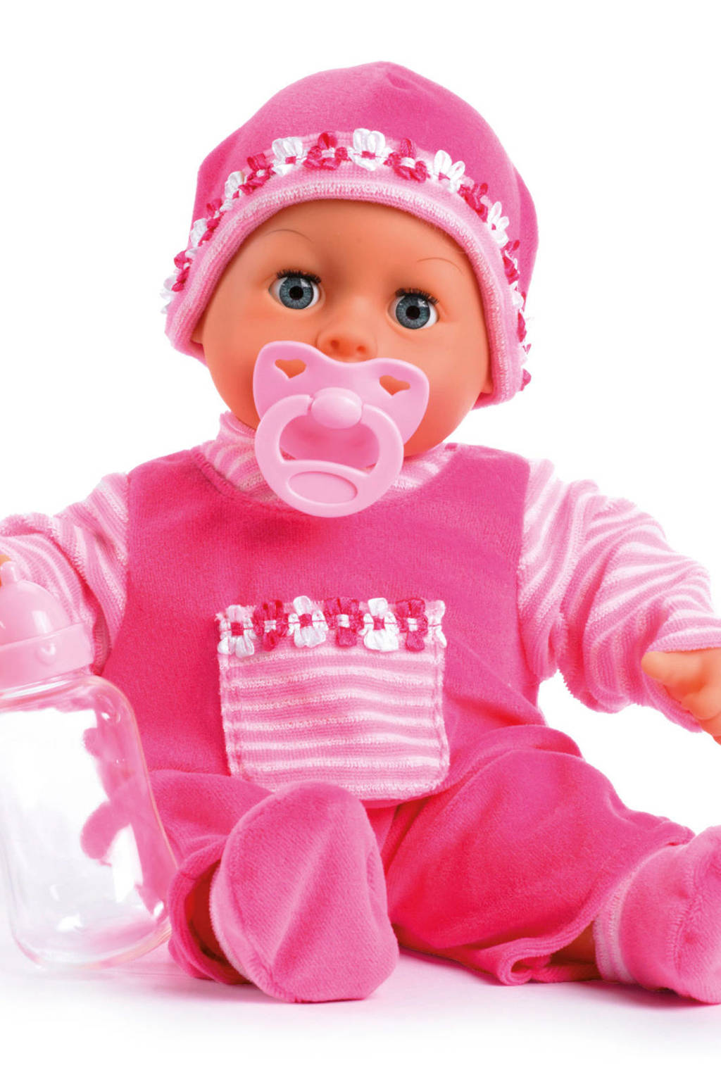 Bayer first words baby 38 cm roze babypop