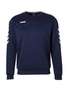 sportsweater donkerblauw