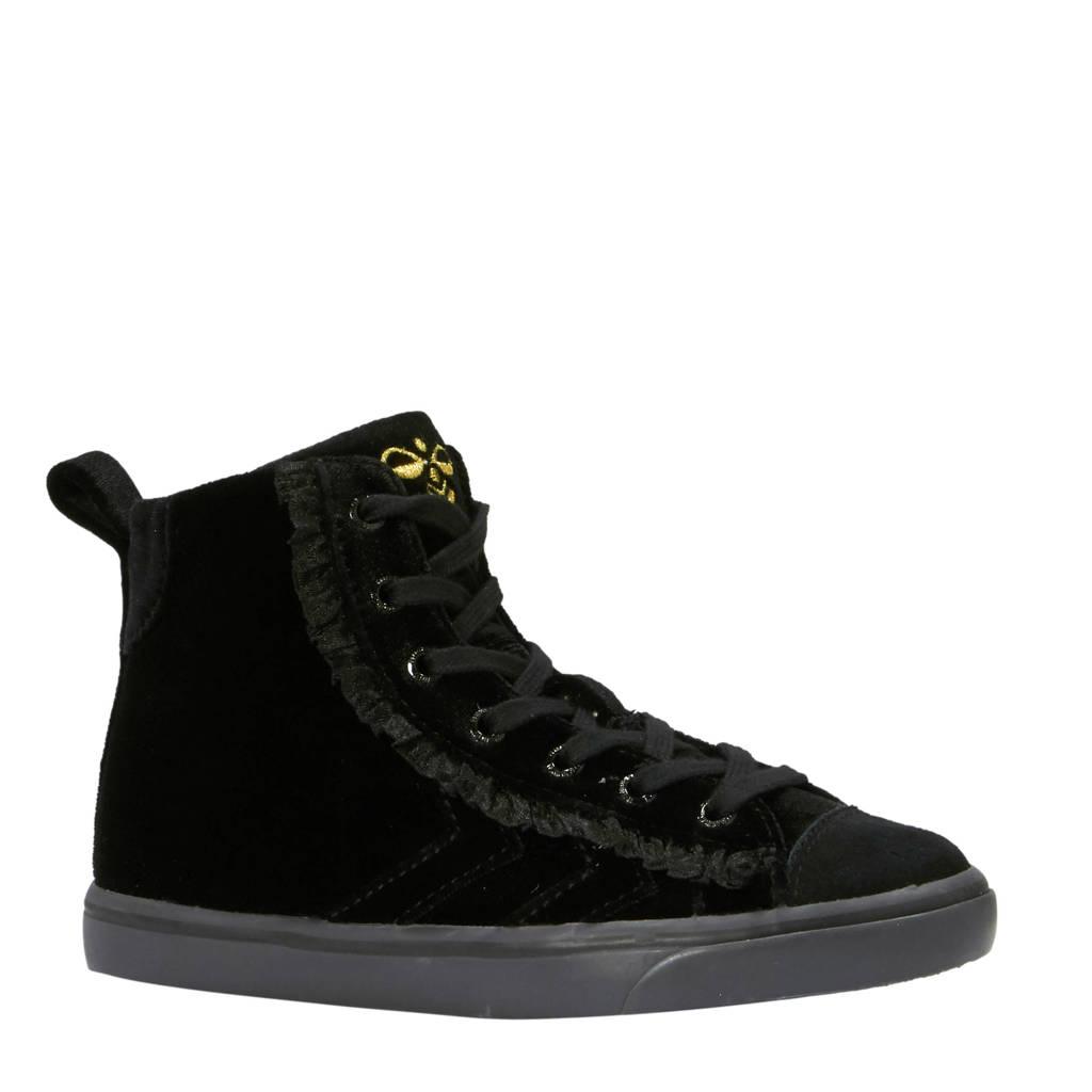 hummel  Strada Velvet sneakers, Zwart