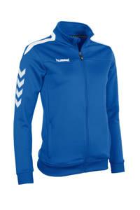 hummel sportvest blauw, Blauw