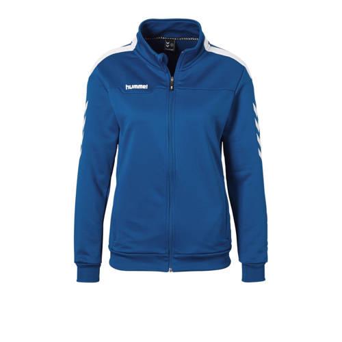 hummel sportvest blauw kopen