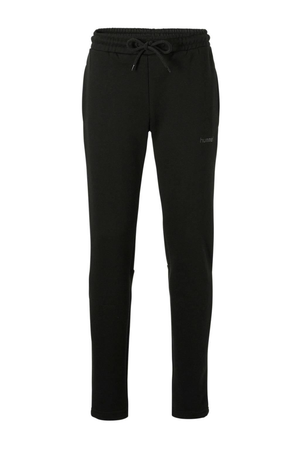 hummel   joggingbroek zwart, Zwart, Jongens