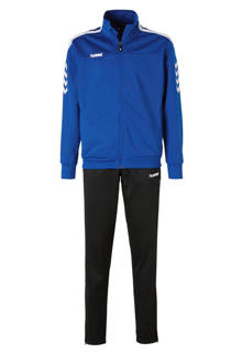 Junior  Valencia trainingspak blauw/zwart
