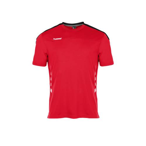hummel sport T-shirt rood