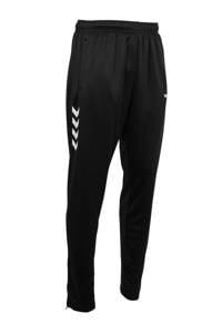 hummel   sportbroek Valencia, Zwart/wit