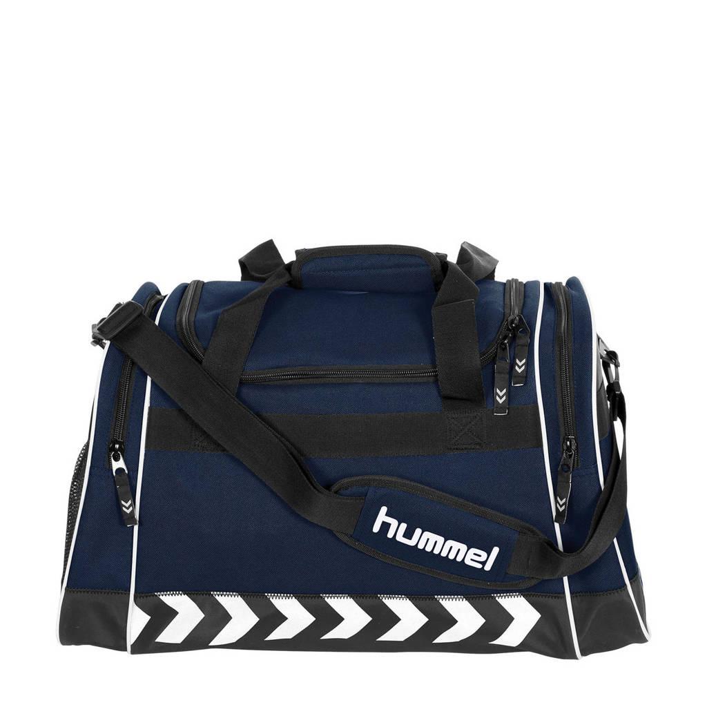 hummel   Milford Bag sporttas blauw, Blauw/zwart