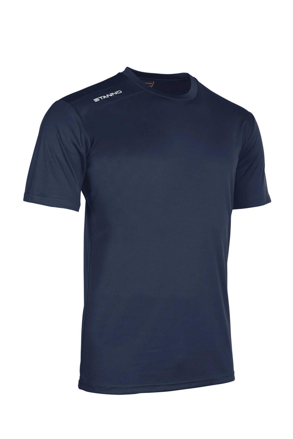 Stanno Junior  sport T-shirt donkerblauw, Donkerblauw