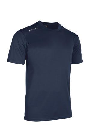 Junior  sport T-shirt donkerblauw