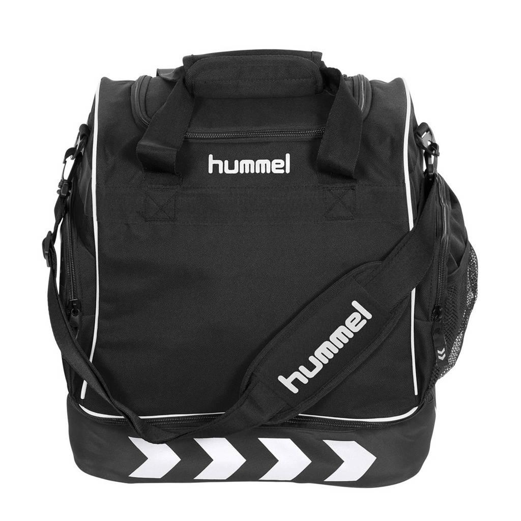 hummel   Pro Backpack Supreme sporttas zwart, Zwart/wit