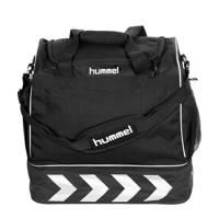 hummel   Pro Bag Supreme sporttas zwart, Zwart/wit