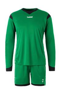 hummel Senior  Keepersset groen/zwart, Groen/zwart