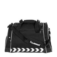 hummel   Milford Bag sporttas zwart, Zwart/wit