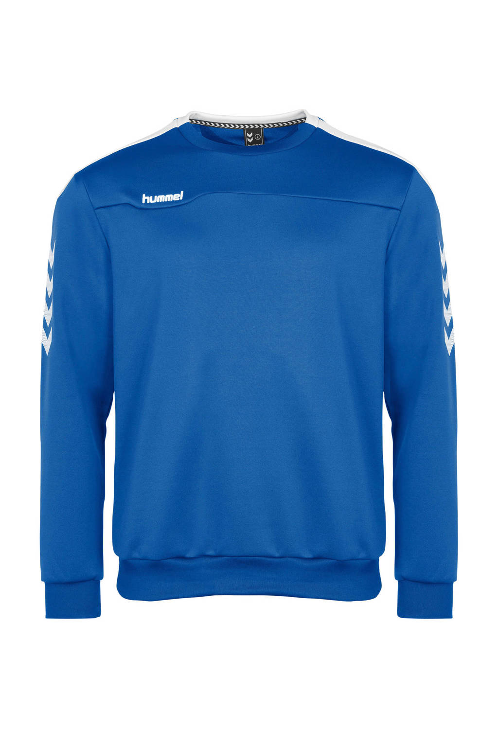 hummel   sportsweater blauw, Blauw/wit, Heren