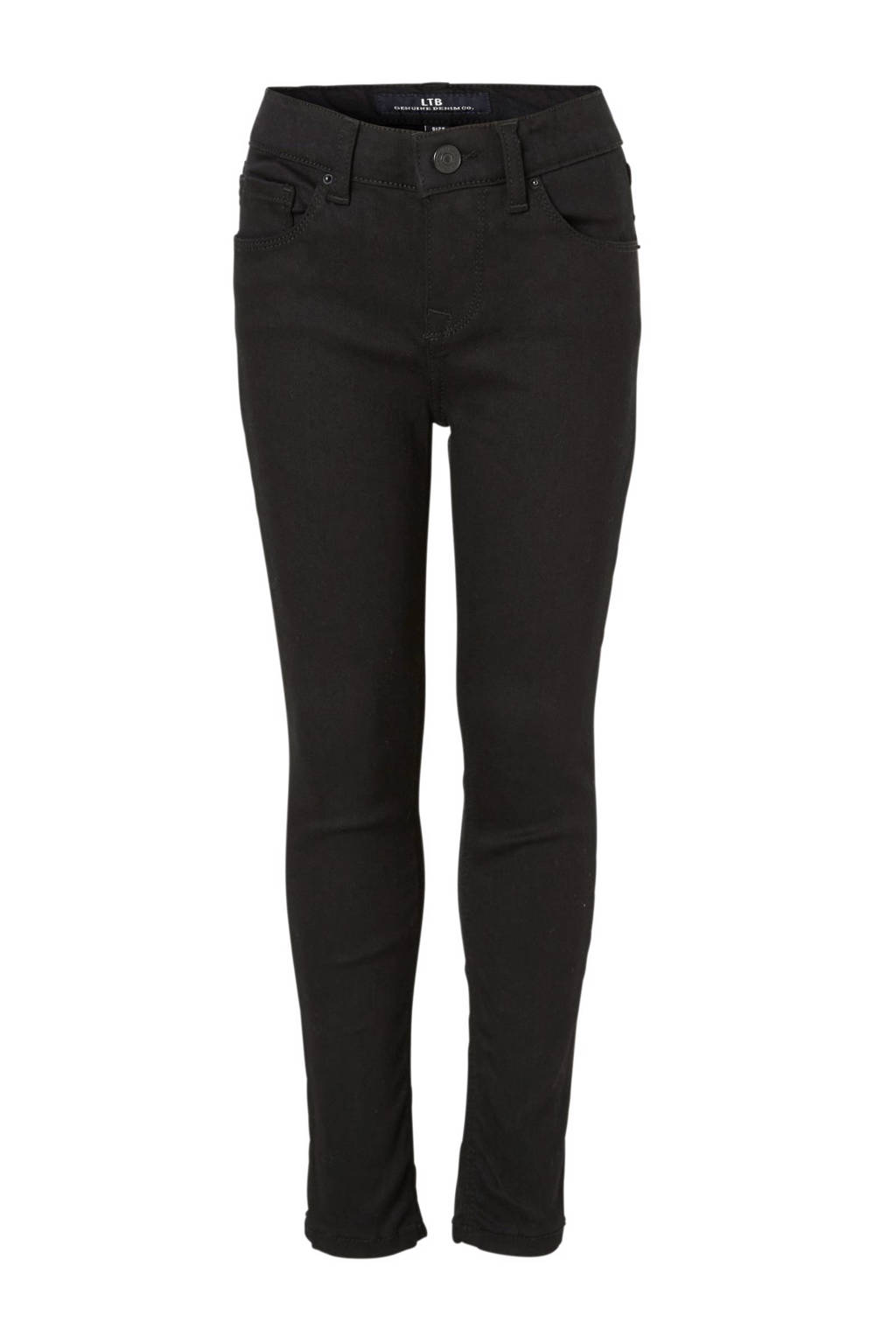 LTB high waist skinny jeans Tanya zwart, Zwart