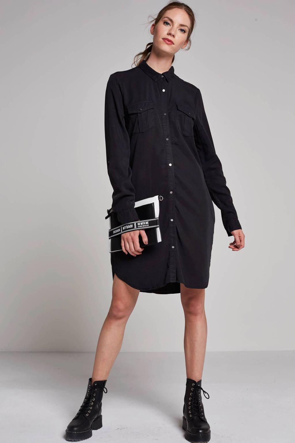 VERO MODA blousejurk, Zwart