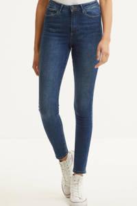 VERO MODA high waist skinny jeans VMSOPHIA medium blue denim, Blauw