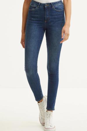 high waist skinny jeans VMSOPHIA medium blue denim