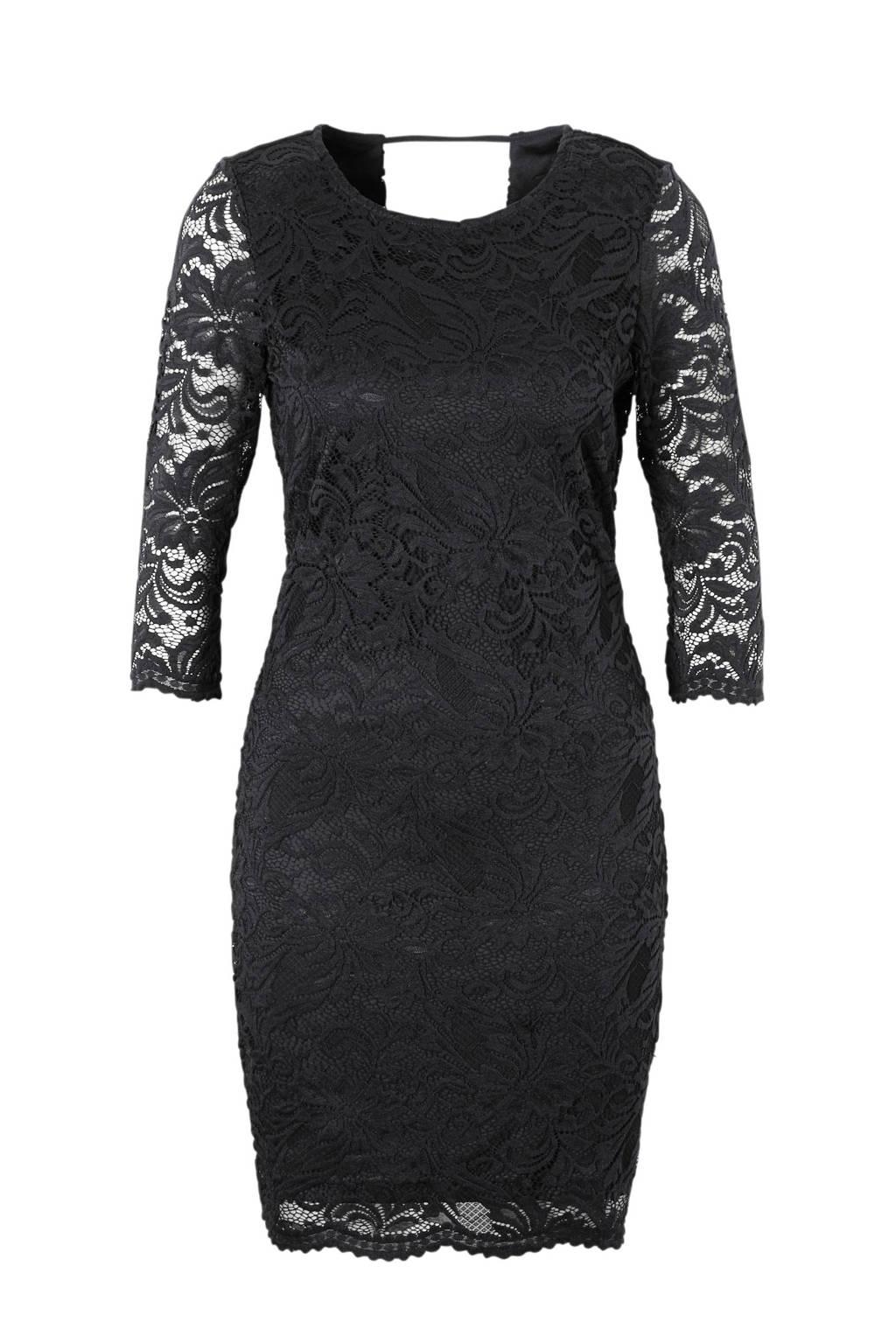 VERO MODA kanten jurk, Zwart