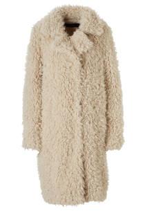 VERO MODA coat met teddy (dames)