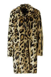 VERO MODA coat met imitatiebont (dames)