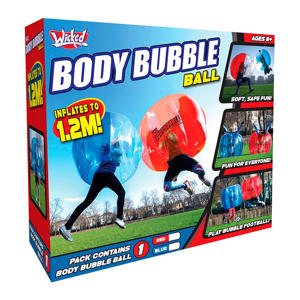 Body Bubble Ball blauw (1 stuk)