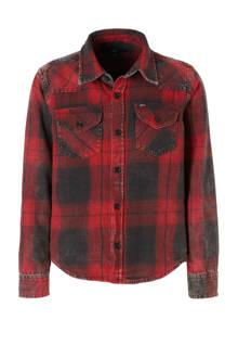 geruit overhemd Rohan rood