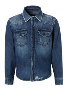 denim overhemd Rohan blauw