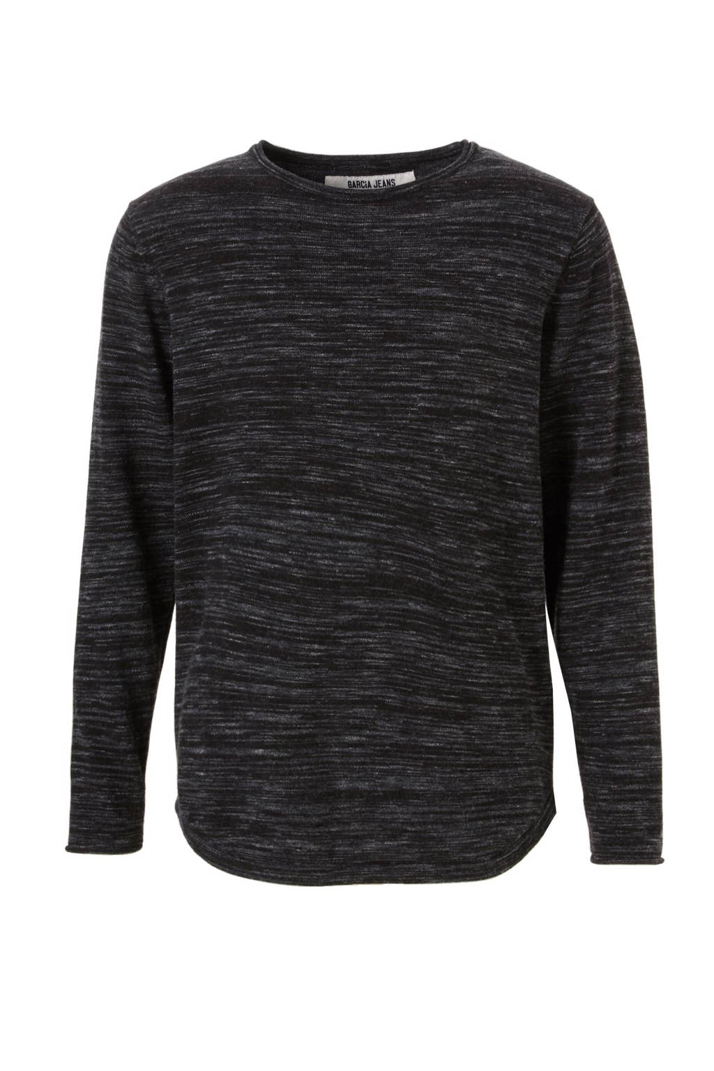 Garcia T-shirt, zwart/ grijs