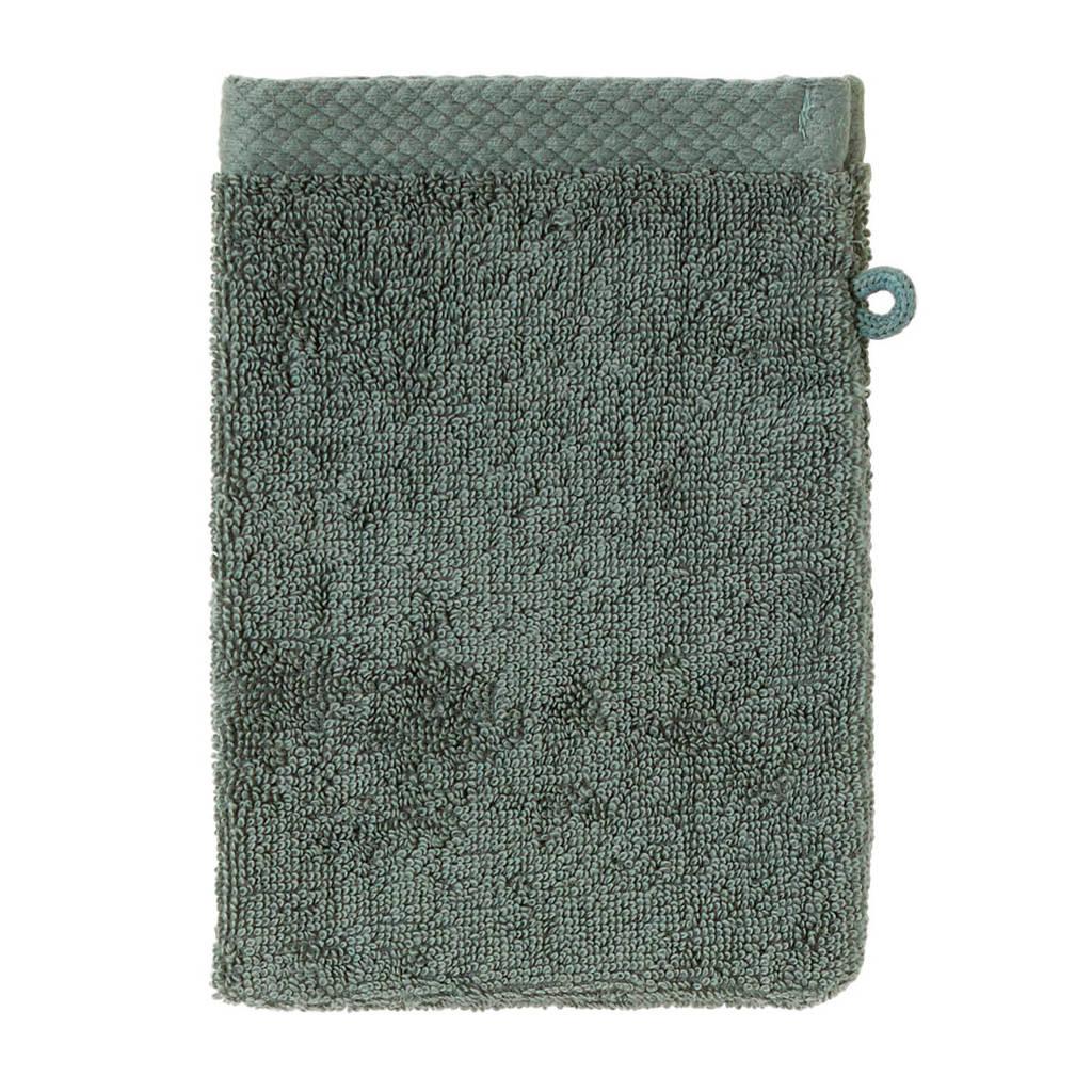 Seahorse washand Pure (set van 3), Groen