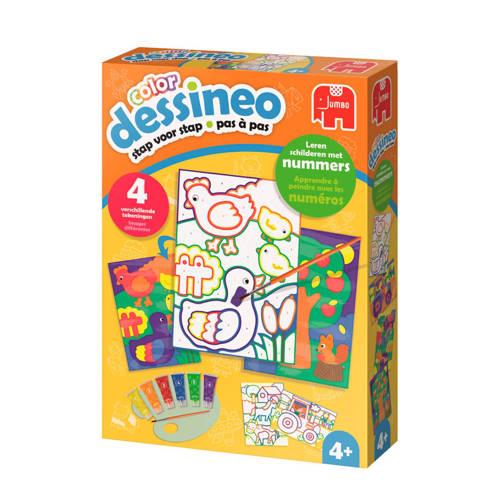 Jumbo Dessineo color schilderen op nummer - boerderij kopen
