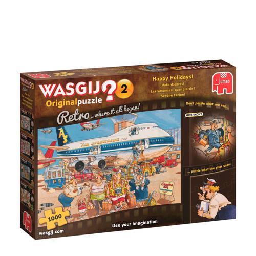 Wasgij Retro Original 2 Happy Holidays 1000 pcs 1000stuk(s)