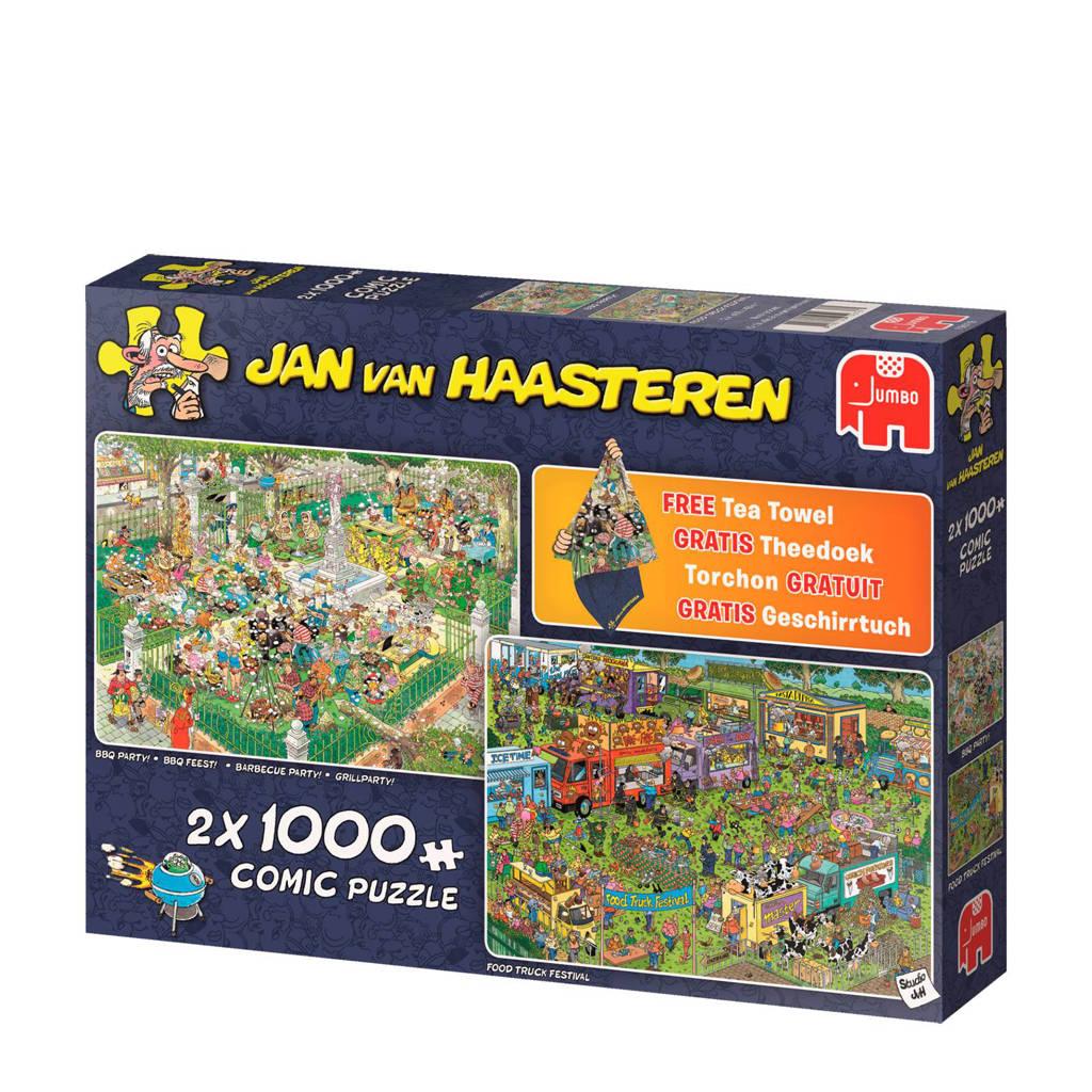 Jumbo Jan van Haasteren food festival  legpuzzel 1000 stukjes