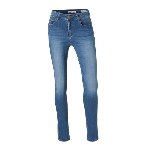 Lois high waist skinny jeans met printopdruk doubl