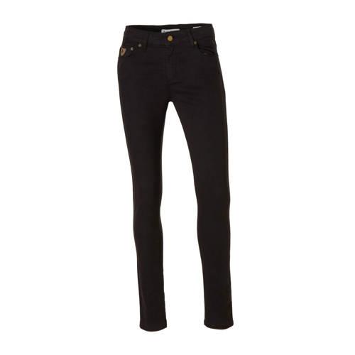 Lois high waist skinny jeans black