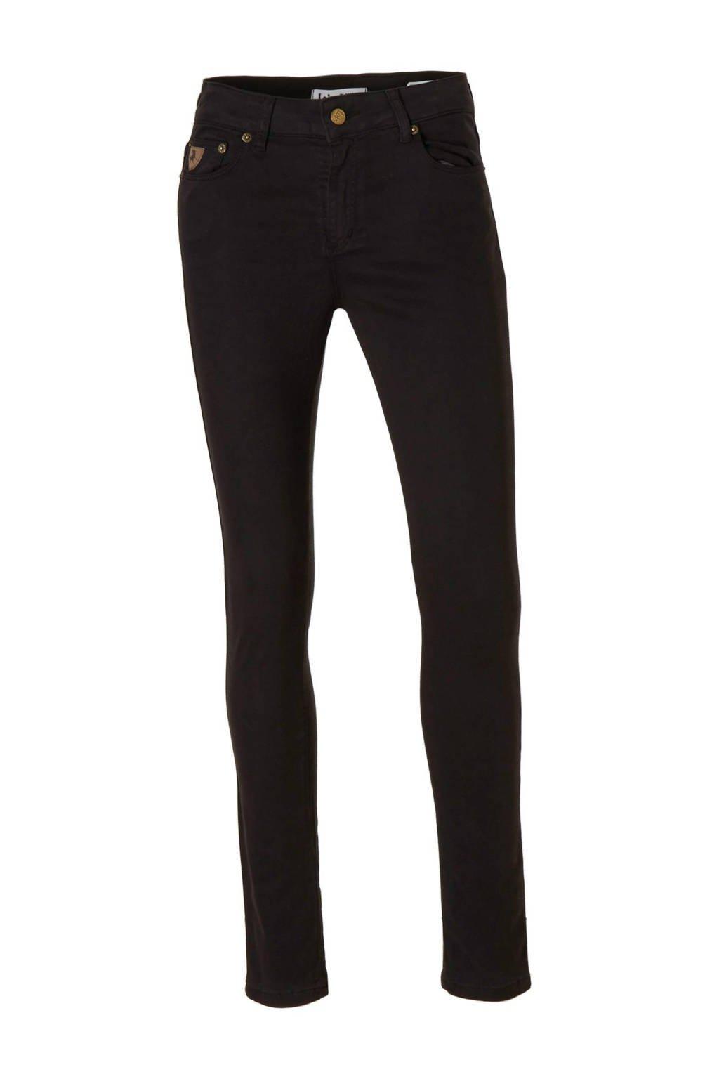 Lois Cordoba 5043 high waist skinny fit ankle jeans, Black