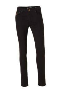 Lois high waist skinny jeans black, Black
