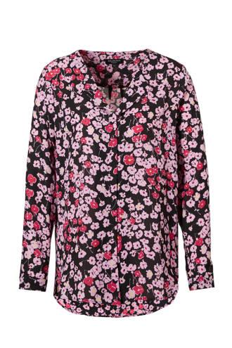 blouse met bloemenprrint