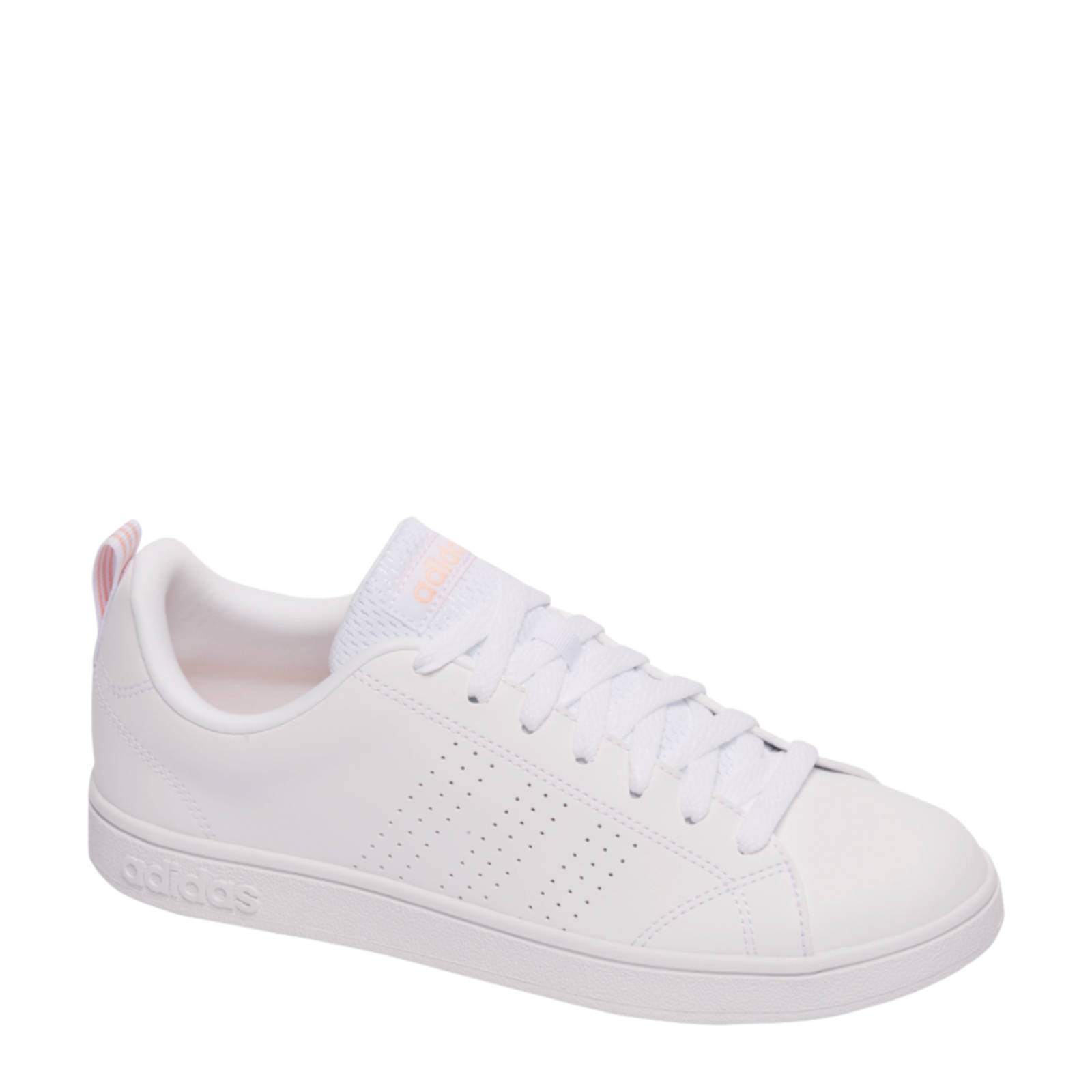 adidas Advantage Clean sneakers wit | wehkamp