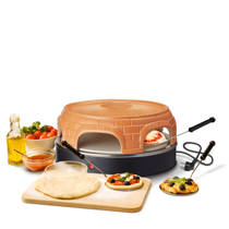 Emerio Stone Keep Warm pizzarette, 6 persoons