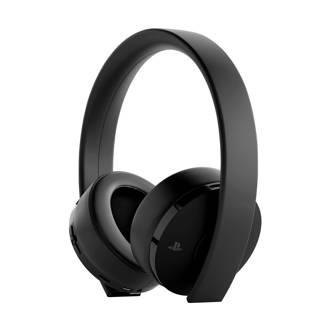 PlayStation 4  Gold draadloze gaming headset zwart