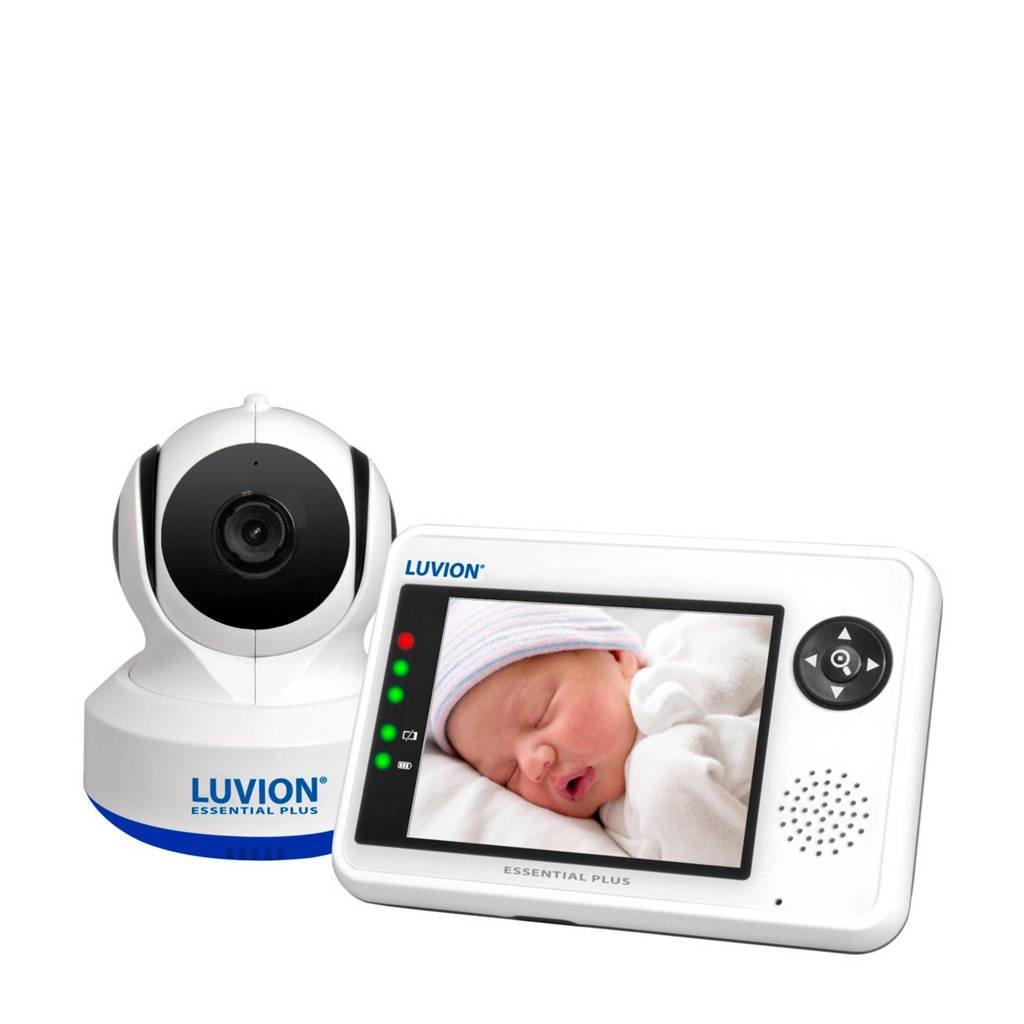 Luvion Essential Plus babyfoon set, Wit/blauw