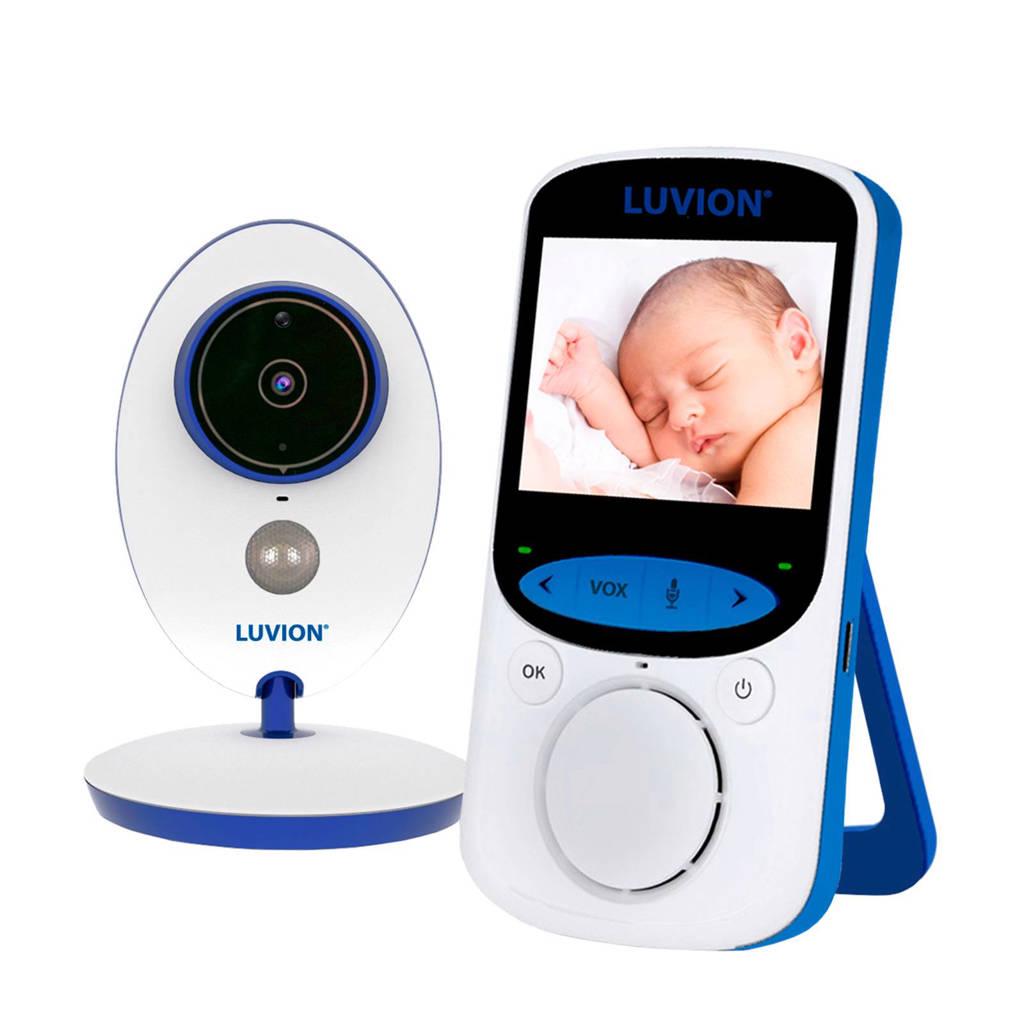 Luvion Easy Plus babyfoon set, Wit/blauw