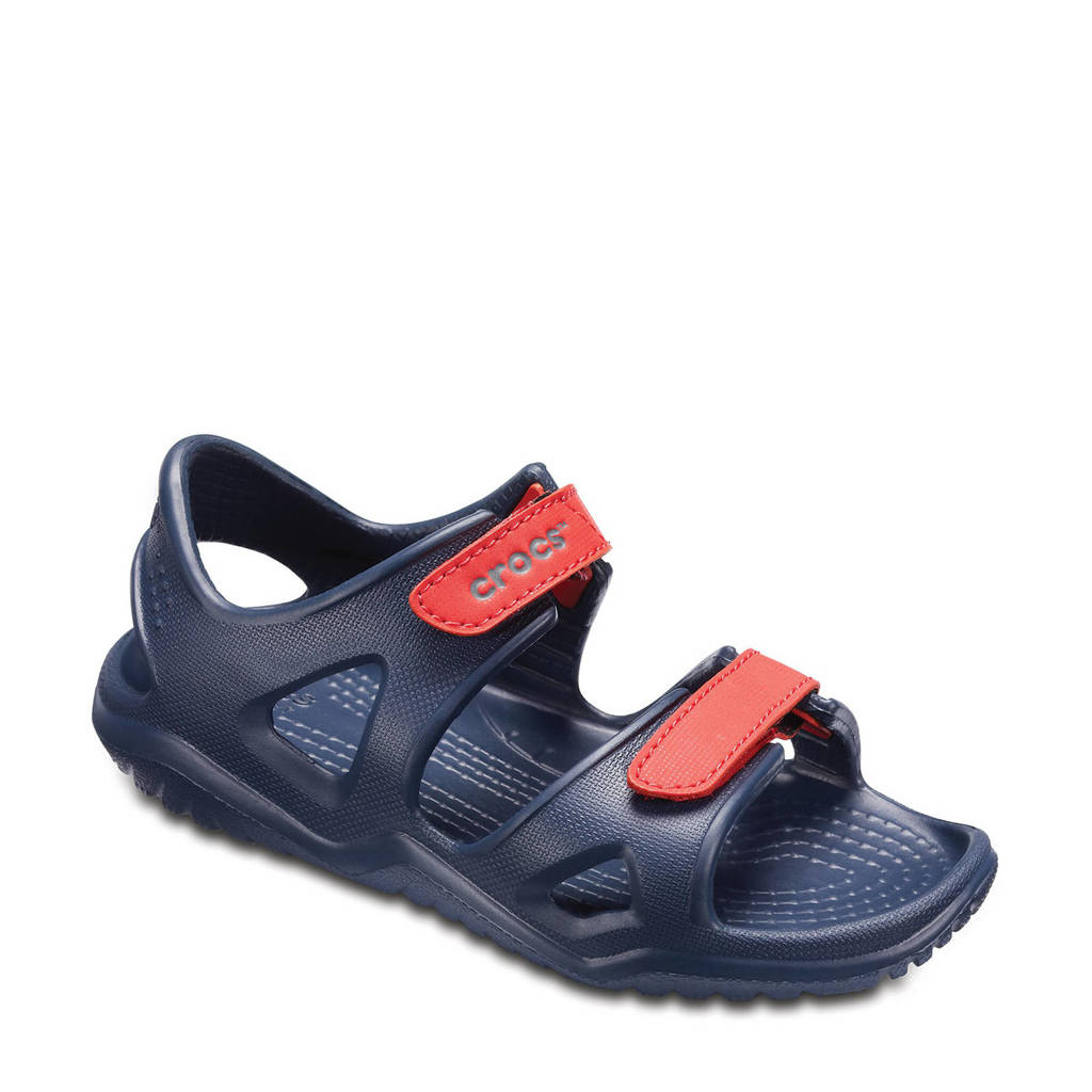 Crocs   outdoor sandalen donkerblauw kids, Donkerblauw