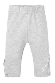 newborn legging grijs