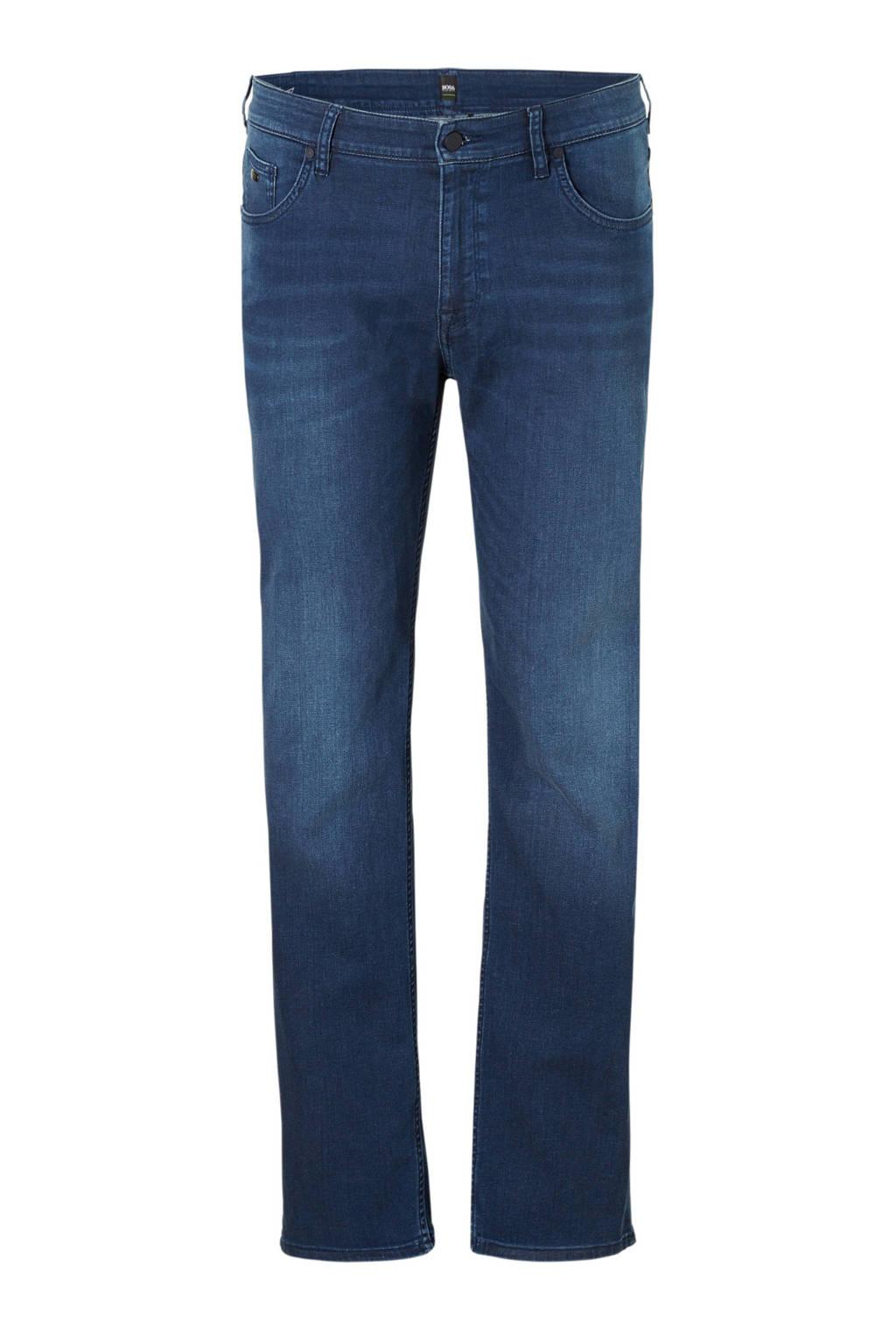 Boss Athleisure Big & Tall  regular regular fit jeans, Blauw