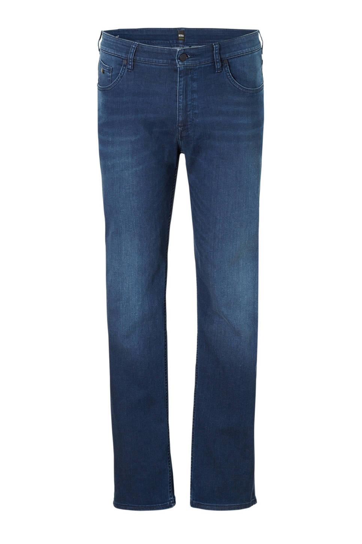 Boss Athleisure Big & Tall regular fit jeans, Blauw