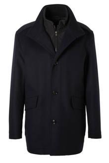 Coxtan jas met wol en cashmere