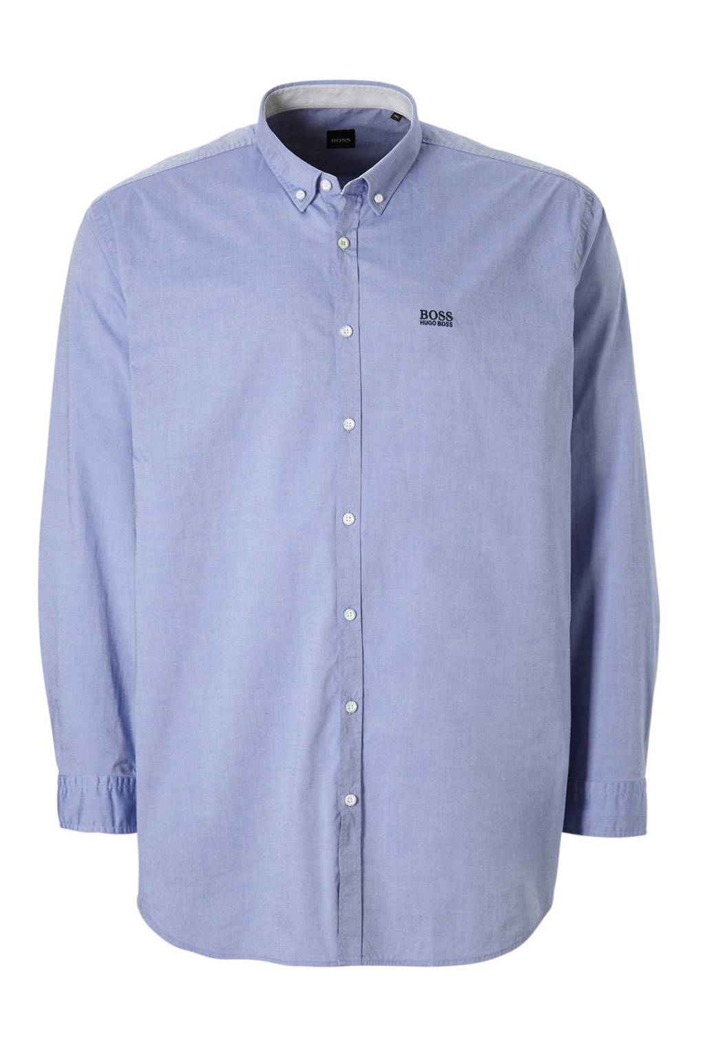 Boss Athleisure Big & Tall overhemd, Blauw